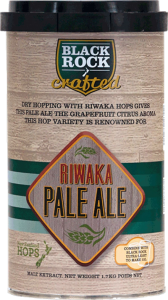 Black Rock Crafted Riwaka Pale mic