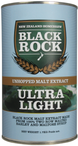 Black Rock Ultra Light Unhopped Malt 02