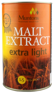 Muntons Extra Light Plain Malt Extract 1.5 kg