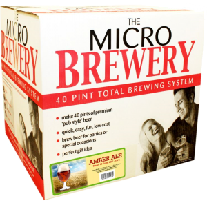 Young's Micro Brewery Amber Ale Complete System